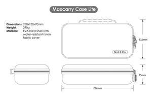 Image 5 - Kafatası ve Co. MaxCarry kılıf Lite sert kabuk saklama çantası taşıma çantası Nintendo anahtarı için Lite