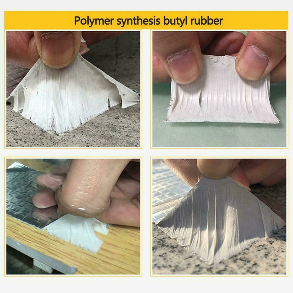 Aluminum waterproof tape to prevent leaks – 5 meters x 5 cm – Silver