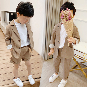 Girls Boys Suits for Weddings Kids Blazer School Suit for Boy Costume Toddler Boys Suits Set Formal Girl Suit Children Clothes boys black blazer wedding suits for boy formal dress suit boys kids page outfits 5 pcs set gh461