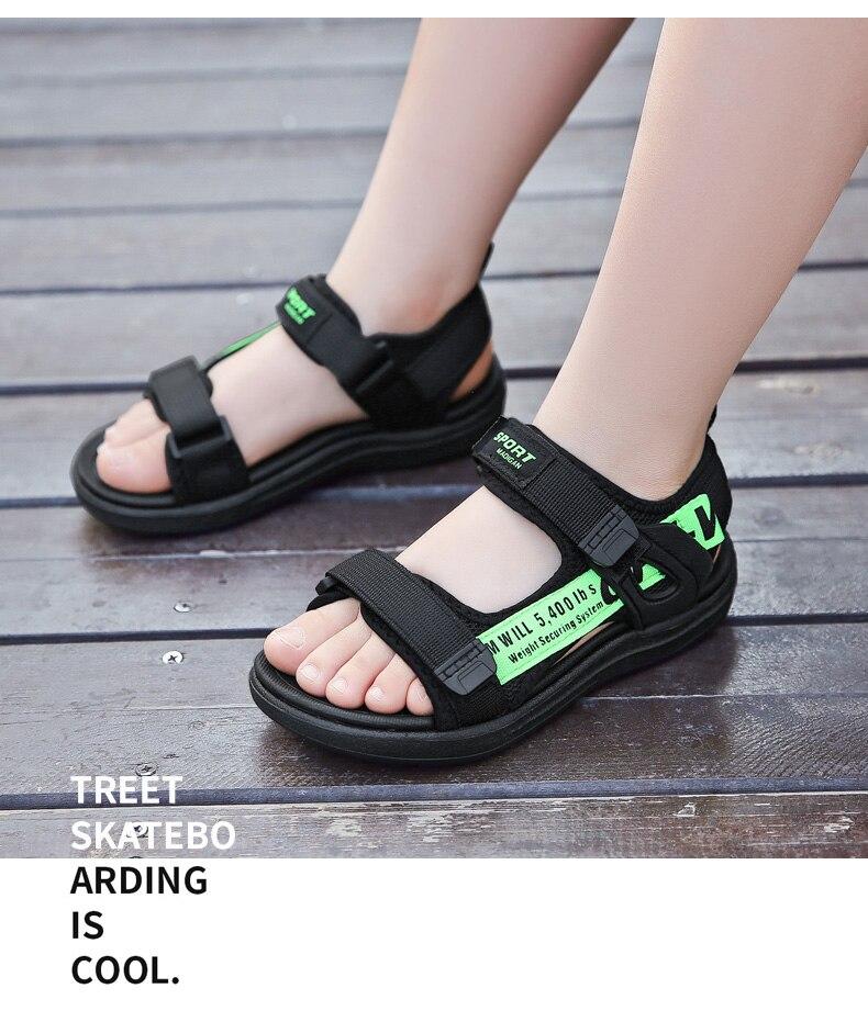 Children Sandals Valcro Mesh