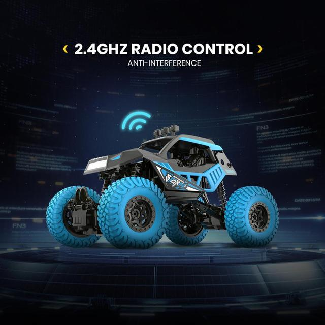 DEERC DE32 RC Car Offroad Trucks 2.4G Radio Remote Control Car RC Rock Crawler Car Racing Monster Truck For Children Adults Kids 5