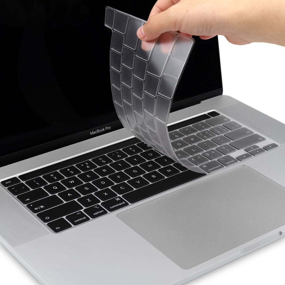 2X Transperant TPU Keyboard Cover Skin for Apple Macbook Pro A1706//A1708