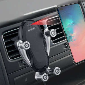 Image 2 - ワイヤレス車の充電器ワイヤレス充電器 10 ワット iphone/X/XR/XS/最大 8 11 とサムスン note9/S10/S9 でワイヤレス充電器