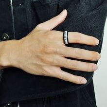 Минималистичные кольца для мужчин 8 мм фортепиано ele ts обручальные