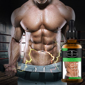 30ML Powerful Abdominal Muscle Essence Oil Stronger Muscle Strong Anti Cellulite Burn Fat Product Weight Loss Essence Oil Men(China)