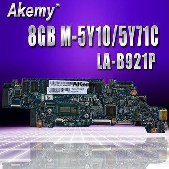 LA-B921P mothebroard for Lenovo Yoga 3-1170 Yoga 3 11 Laptop Motherboard AIZY0 LA-B921P W/ 5Y10C CPU 8GB RAM original test