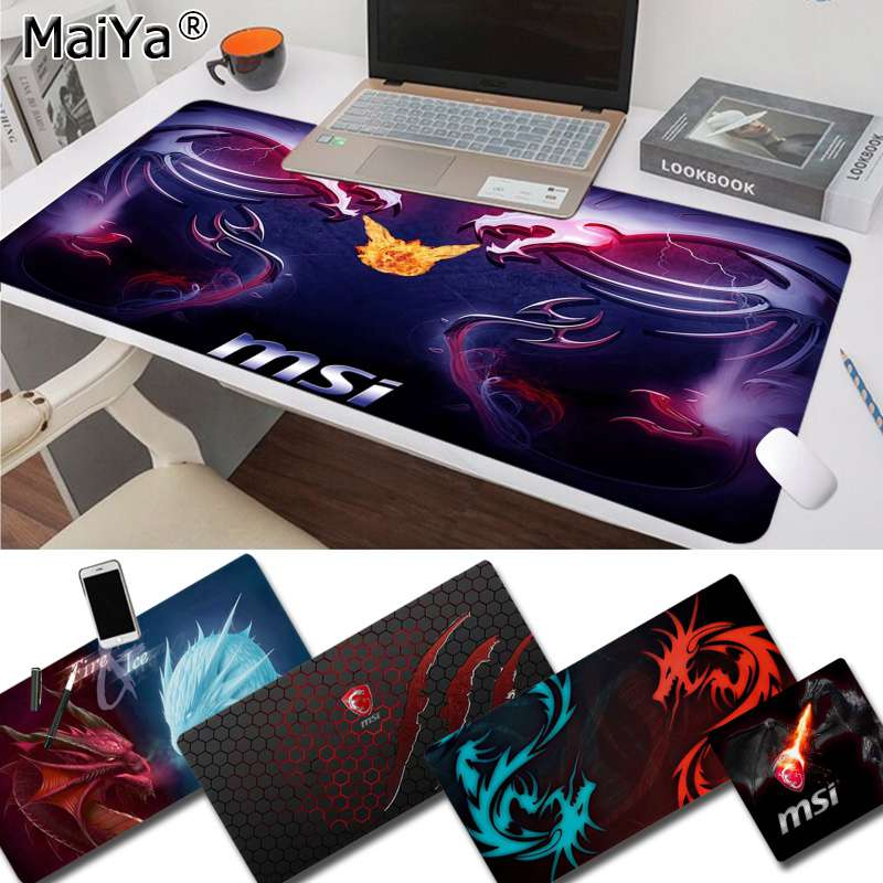 Maiya  Red Dragon Series Rubber PC Computer Gaming Mousepad Speed/Control Version Large Gaming Mouse Pad