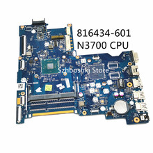 ABQ52 LA-C811P For HP 15-AC 250 G4 816434-601 816434-001 816434-501 Laptop motherboard with SR29E N3700 CPU DDR3 100% Test OK