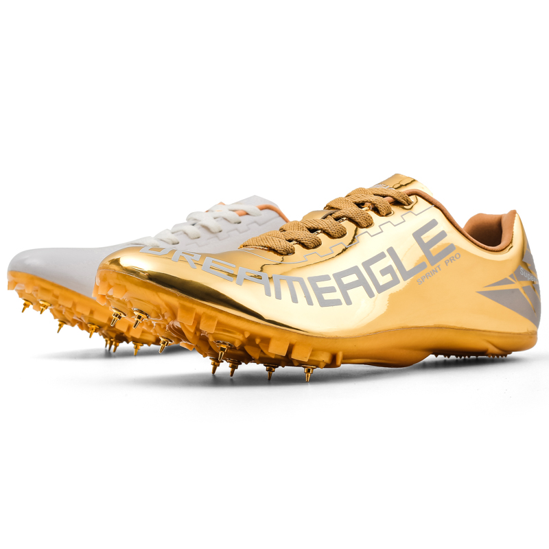 Women's Men's Track and Field Shoes Track Spike Running Sprint