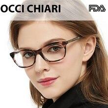 Occi chiari компьютерные очки ацетатные голубые прозрачные по
