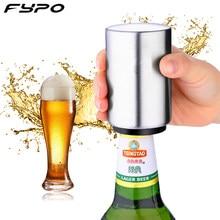 Ouvre-bouteille de bière automatique, ouvre-bouteille créatif en acier inoxydable, ouvre-bouteille de vin, bocal, Gadgets de cuisine, fournitures de Bar