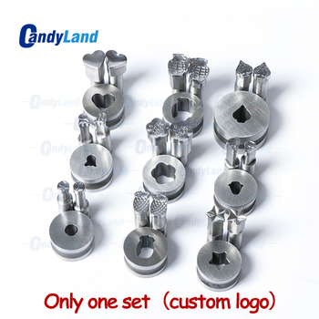 CandyLand Custom Milk Tablet Die 3D Pill Press Mold Candy Punching Die Custom Design Calcium Tablet Punch Die For TDP5 Machine