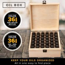 36 Compartments Wooden Essential Oil Packaging Box Oil Bottle Organizer Travel Essentia Women Perfume Oil Storage Bag Wooden Box 85 grids wooden essential oil box solid wood case frame aromatherapy bottle storage large storage box pine handmade