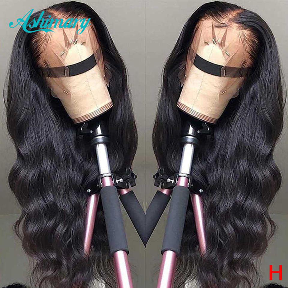13x6 Lace Front Human Hair Wigs Remy Brazilian Hair Lace Front Wig Body Wave Lace Frontal Wig 150% Density Wigs High Ratio