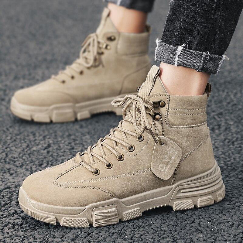 Super Promo 136f48 Aodlee Winter Men Boots Fashion Mens Snow Boots Ankle Chelsea Boots For Men High Top Casual Shoes Men Leather Shoes Botas Hombre Cicig Co