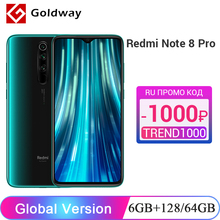 Xiaomi Redmi Note-8 Pro 128GB 6GB GSM/LTE/WCDMA Octa Core New 64GB Smartphone NFC Quad-Camera