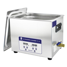 купить Skymen Digital 10L Ultrasonic Cleaner Timer Heated Stainless Bath Engine Mechanical Parts Ultra Sonic PCB Board Cleaning Machine по цене 13021.03 рублей