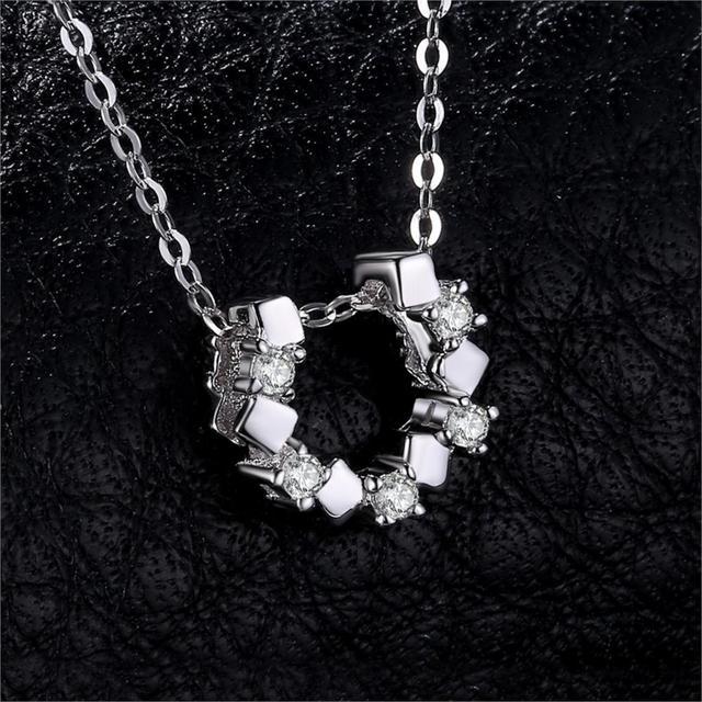 Horseshoe Sterling Silver Pendant