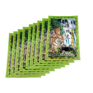Medical Plaster Stickers Balm-Joint Pain-Patch Tiger Back Killer-Body Relax 72pcs--9bags-Neck