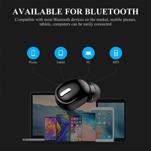 Image 4 - X9 bluetooth 5.0 fone de ouvido mini sem fio fones estéreo redução de ruído in ear 3d som esporte caminhadas fone de ouvido para todos os smarthones