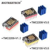 BIGTREETECH TMC2208 V3.0 TMC2209 UART TMC2130 SPI Stepper Motor Driver Stepstick Mute For SKR V1.3 Pro MKS 3D Motherboard|3D Printer Parts & Accessories| |  -