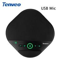 TENVEO A3000 Hände Geben Anruf USB Lautsprecher und Freisprecheinrichtung Tragbare Konferenz Anruf Lautsprecher Echo Stornierung für VoIP Anrufe