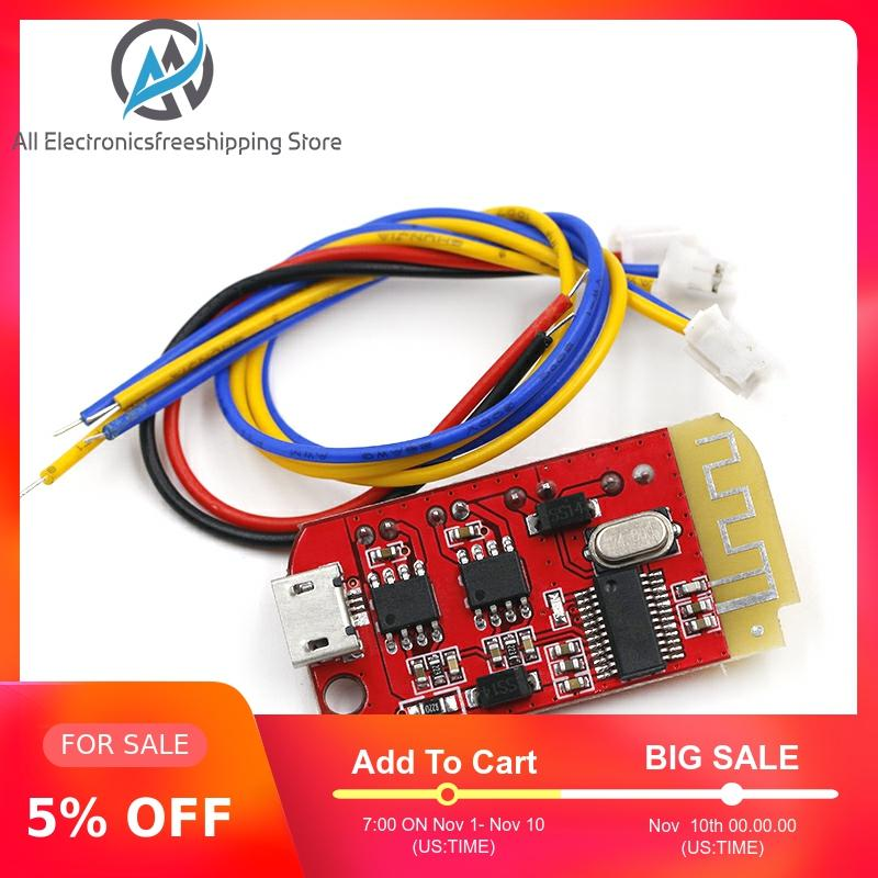DC 3.7V 5V 3W Digital Audio Amplifier Board Double Dual Plate DIY Bluetooth Speaker Modification Sound Music Module