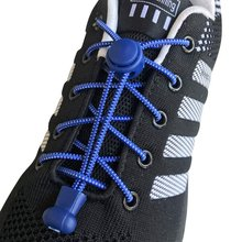 1 пара круглых шнурков эластичные ленивые шнурки для молодых