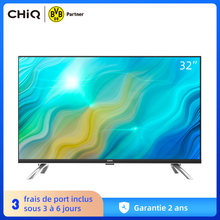 CHiQ L32H7A, 32 Pouces(80cm), Android 9.0, Smart TV, HD, WiFi, Bluetooth,Google Assistant, Netflix, Prime Video,2 HDMI, USB
