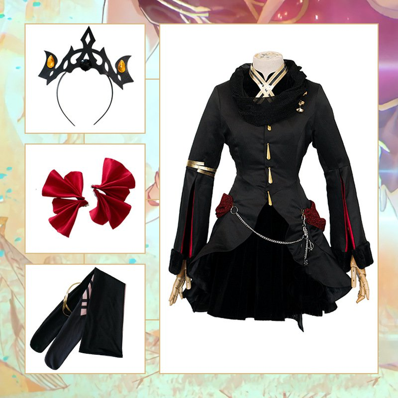 Fate Grand Order FGO Ereshkigal Cosplay Costumes Dress Halloween Christmas New Year Carnival Party For Women