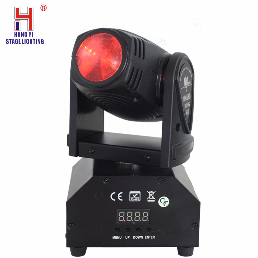 Led 10W Moving Head Spot Luces Discoteca Stage Lighting Effect For Night Light DJ Disco Beam Lights Very Professiona