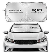 Auto Windschutzscheibe Sonnenschutz Abdeckung Für Kia RIO DC Limousine Wagon JB Facelift K2 Auto Zubehör Blöcke Uv-strahlen Sonne visier Protector