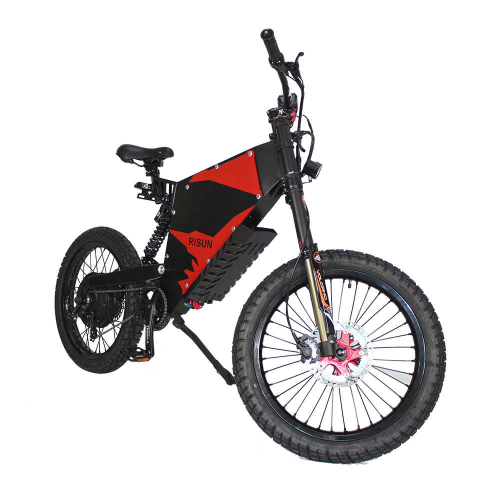 Exclusive Customized FC-1 Powerful Electric Bicycle eBike Mountain 48V 1500W Motor with 48V 43.5AH Li-ion Battery HalloMotor