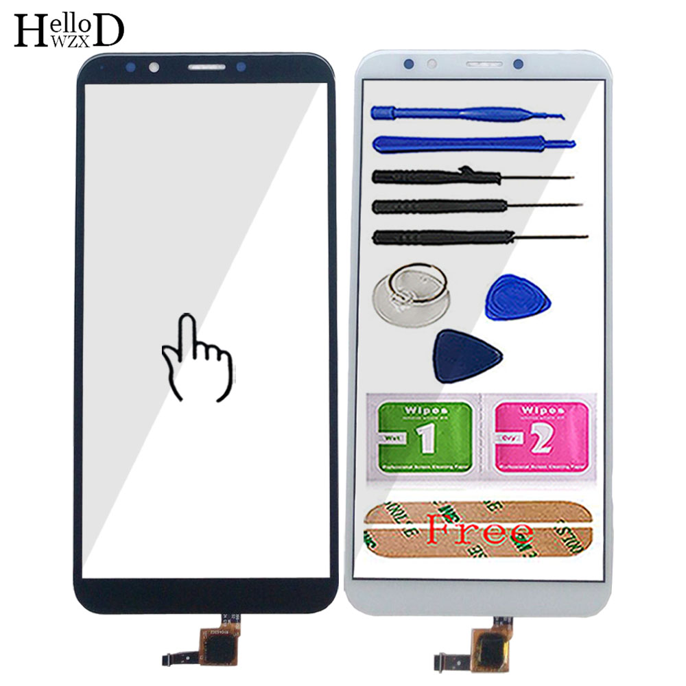 Touch Screen For Huawei Y7 2018 / Y7 Prime 2018 / Y7 Pro 2018 Digitizer Panel Touch Glass Lens Sensor TOuchScreen Tools 3M Glue