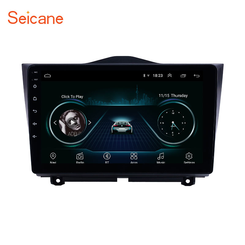Seicane 2din Android 8.1 9 HD Touchscreen Car GPS radio Head Unit Player For 2018-2019 Lada Granta support Carplay DAB+ DVR OBD image