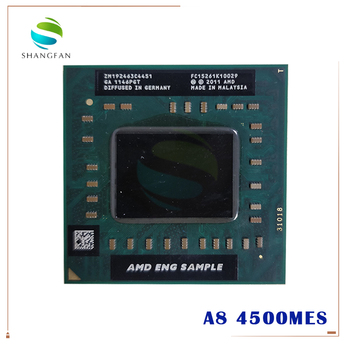 AMD A8-Series A8 4500M  ES Sample ZM192463C4451  laptop CPU Quad Core A8-4500M 1.9G Socket FS1 1