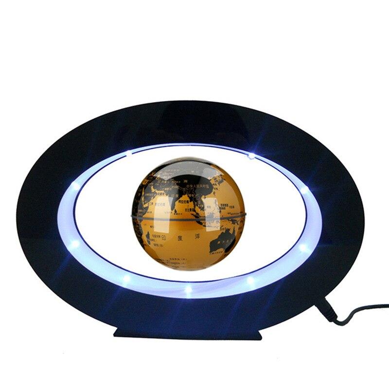 Levitação magnética lâmpada de mesa flutuante lâmpada para presente natal decoração ímã levitação luz da noite carregador sem fio para o telefone - 2