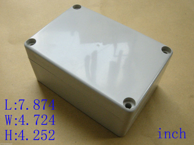 CUHAWUDBA 5Pcs Prototipo Electr/ónico ABS Caja de Proyecto de Uni/ón de Pl/ástico Caja Impermeable 100 X 60 X 25Mm para Port/átil para DIY