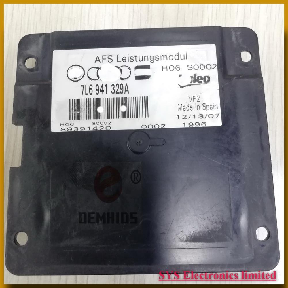 7L6941329A 89504352 89391420 Used Original OEMHIDS AFS Cover 3CD941608B 3CD941607G Control Unit Ballast 89390300 7L6941330
