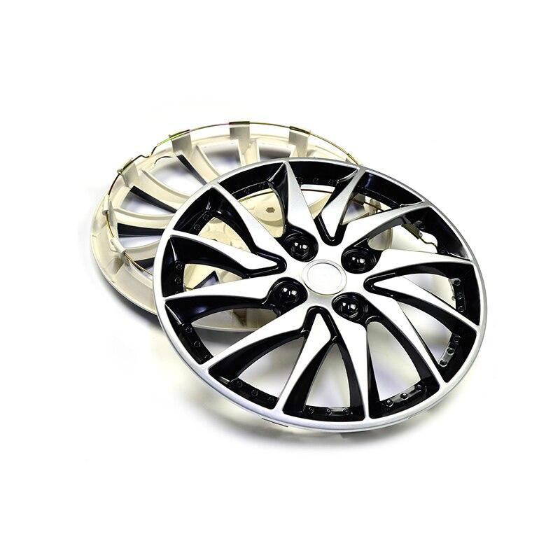 15 Wheel Hub Cap Cover Universal 12 Wheel Spoke Clip on Hubcap For Car Refit