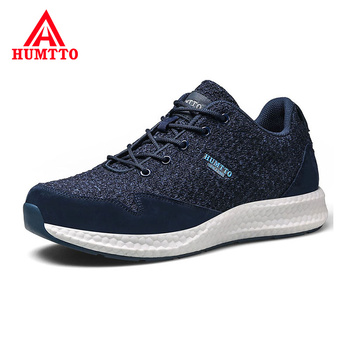 Soft Breathable Light Sneakers Outdoor Non-slip Cushioning Running Shoes 2019 Brand New Lace-up Sport Shoes Men
