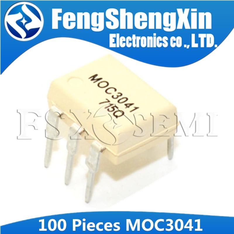 10PCS MOC3041 DIP-6 FSC OPTOCOUPLERS NEW GOOD QUALITY