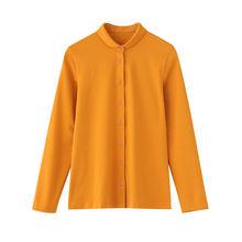 Женская рубашка с воротником «Питер Пэн» из 95% хлопка