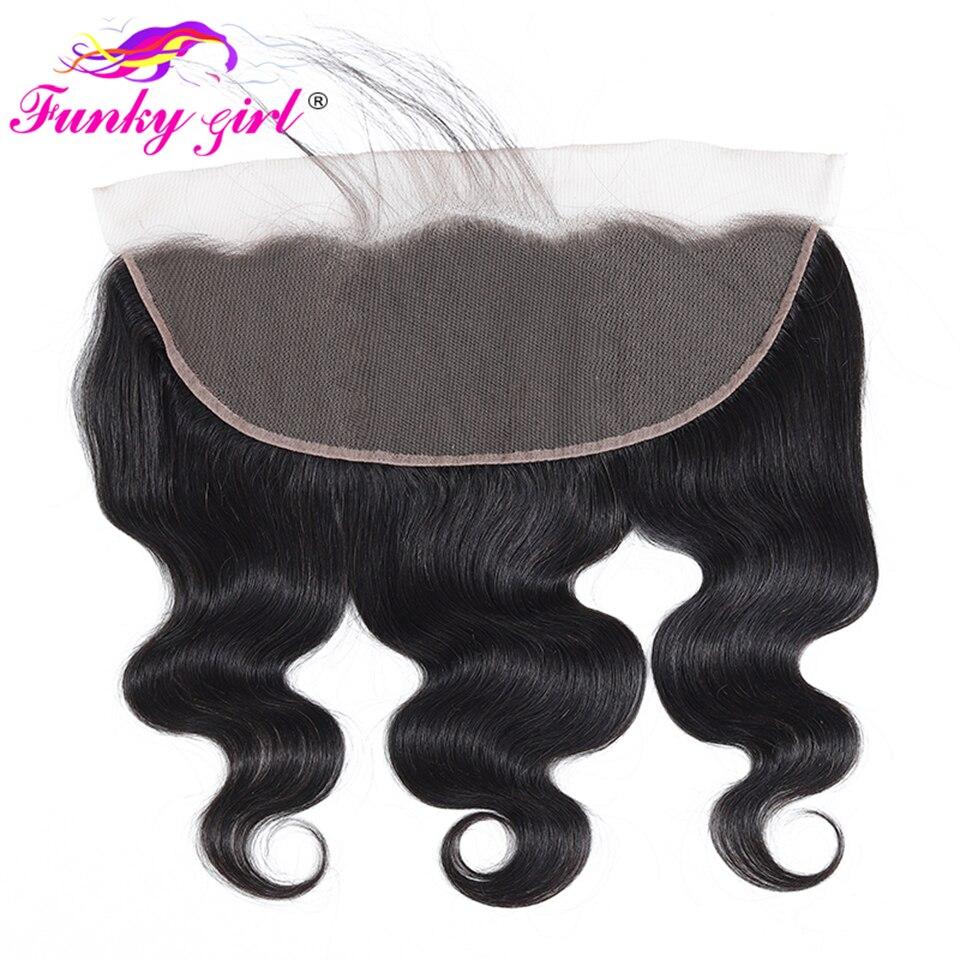 Перуанские волнистые полностью кружевные фронтальные волосы с детскими волосами 13x4 швейцарские кружевные волосы от уха до уха Remy человече...