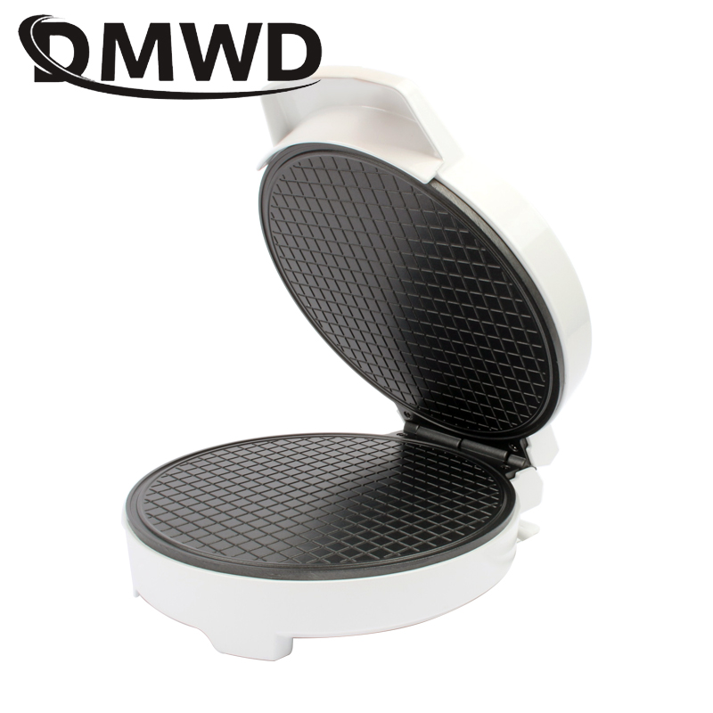 DMWD Electric Egg Roll Maker DIY Ice Cream Cone Machine Crispy Omelet Mold Crepe Baking Pan Waffle Pancake Pie Frying Grill Ironwaffle pancakecone machineegg roll maker -