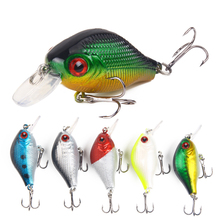 7.8g/5.5cm Hot sale Chubby Minor Fishing Bait High-carbon steel Three-anchor hooked fake fish Bionic road lure supplies