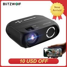 BlitzWolf BW-VP11 LCD светодиодный HD проектор 1280x720P 200ANSI Главная CinemaTheater Открытый фильм портативные проекторы Беспроводной потокового мини-видео про...