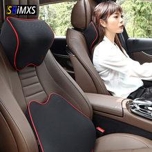 Oreiller de cou universel en mousse à mémoire de forme, appui-tête de voiture, Support de coussin de cou de voyage pour siège de voiture