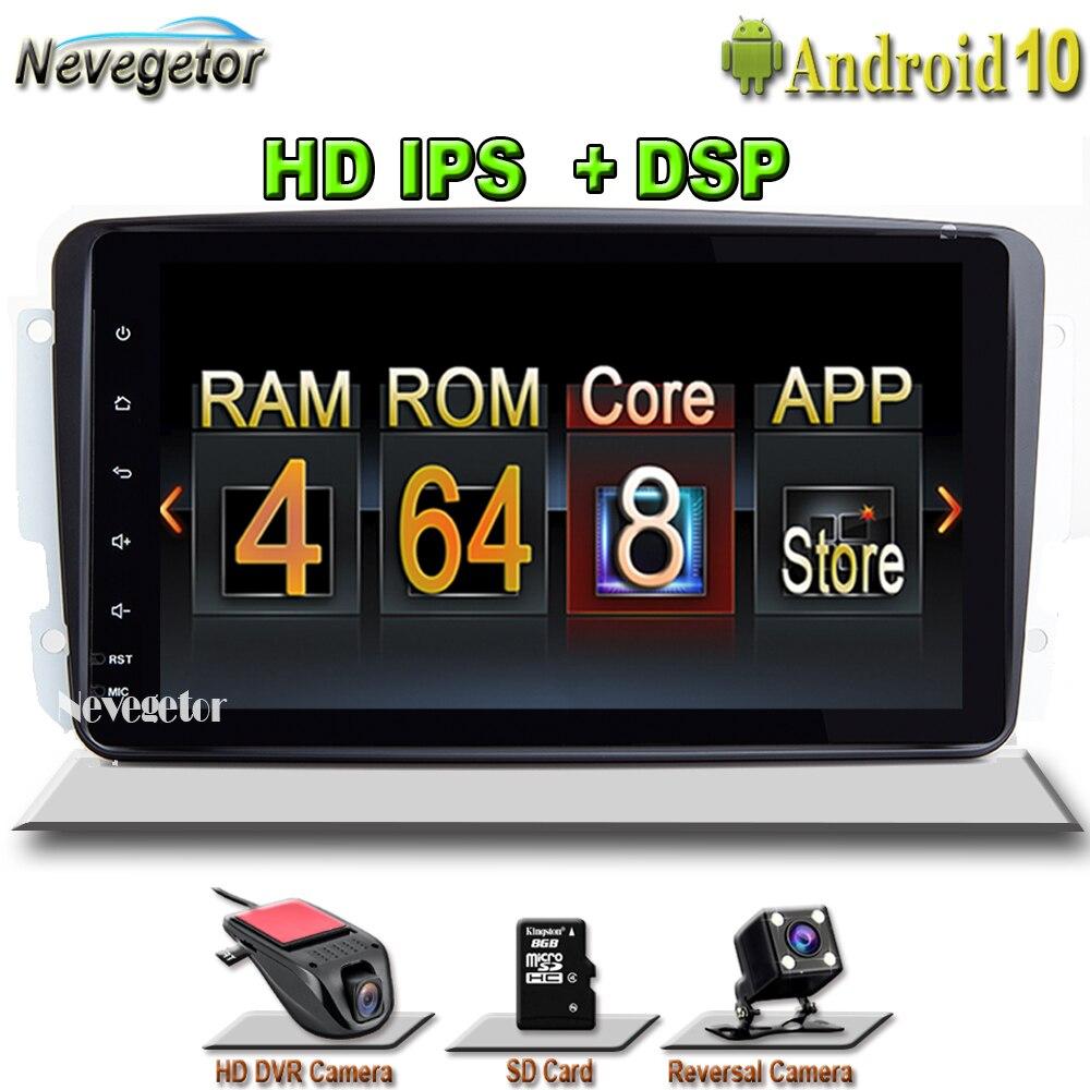 4 ГБ 2 Din Android 10 автомобильный Радио мультимедийный плеер для W203 Mercedes Benz Vito W639 W168 Vaneo Clk W209 W210 M/ML Навигация DVD|Мультимедиаплеер для авто|   | АлиЭкспресс