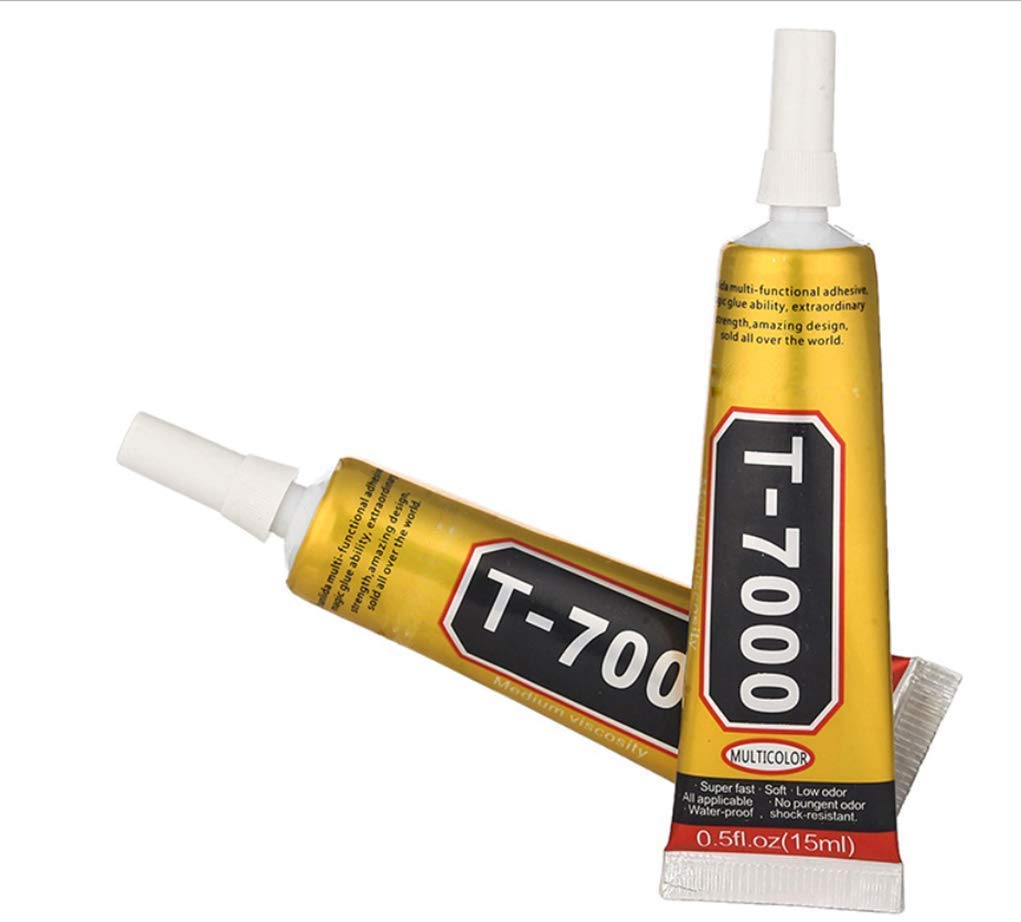 <font><b>110ml</b></font> <font><b>T7000</b></font> Glues Multipurpose Adhesives Super Glues T-7000 Black Liquid Epoxy Glues For DIY Craft Glass Phone Case Metal Fabric image